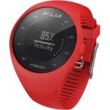 Polar M200 Bilekten Nabız Ölçen GPS'li Koşu Saati - Kırmızı
