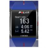 Polar V800 GPS'li Nabız Kontrol Saati BLU/RED + Göğüs Bandı