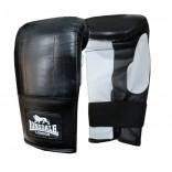 Lonsdale Pro Bag Mitt Bilek Yırtmaçlı Siyah-Beyaz Torba Eldiven - S / M (56749)