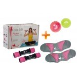 Ebruli Fitness Set + 20 Cm Mini Pilates Topu Hediyeli